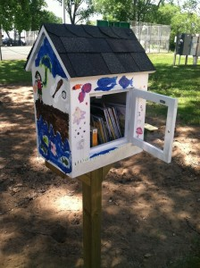 Little Library Alma Beach